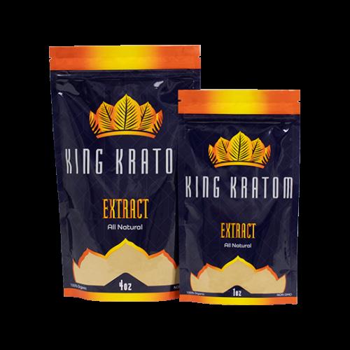 King Kratom Bag Sizes